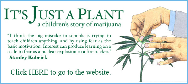 It's Just A Plant book about marijuana